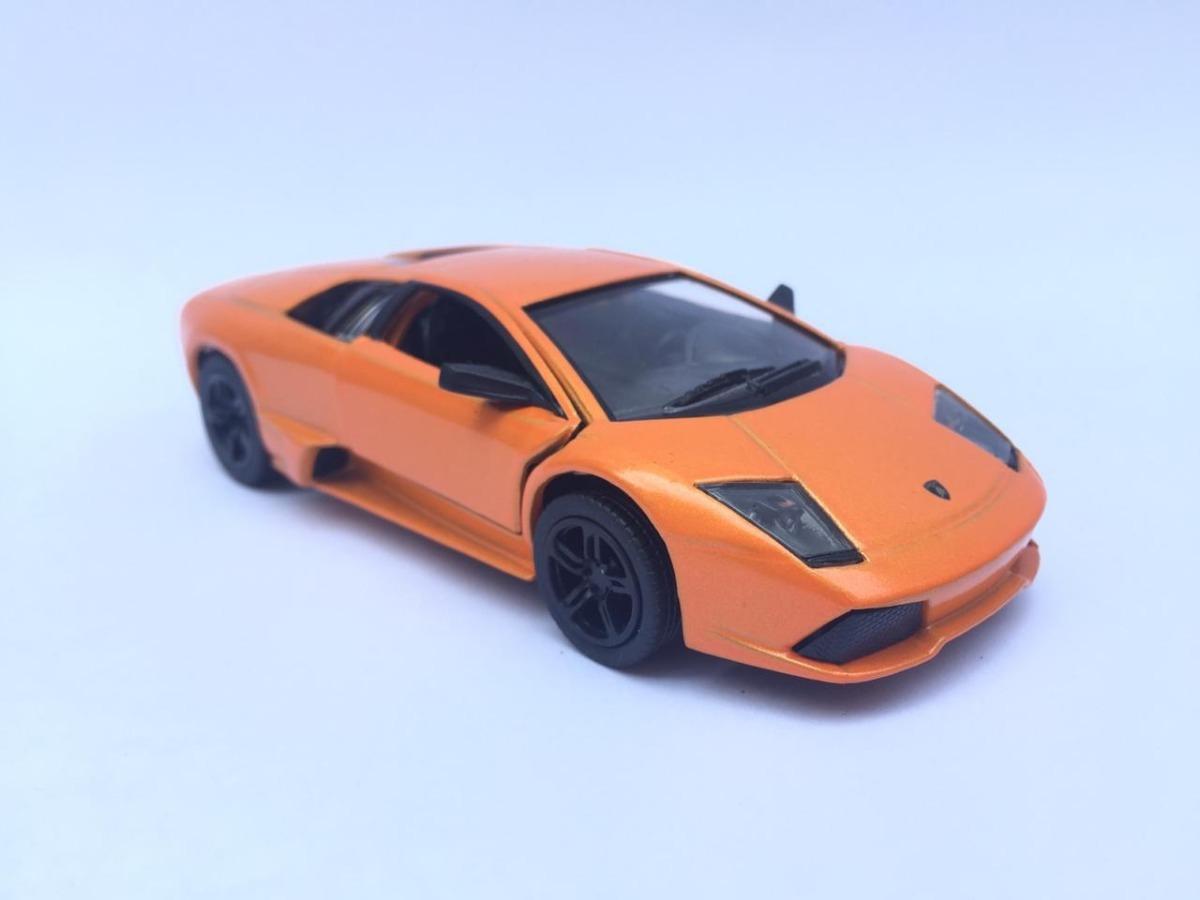 Lamborghini Murcielago Lp640 Jada De Metal 1 32 Naranja 105 00