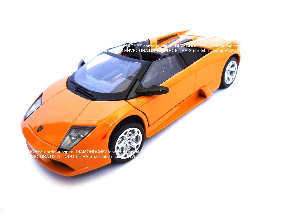 Lamborghini Murcielago Roadster Color Naranja Motormax 1 24 503