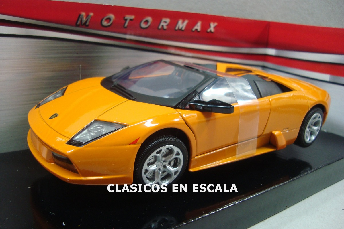 Lamborghini Murcielago Roadster Naranja Motormax 1 24 1 790