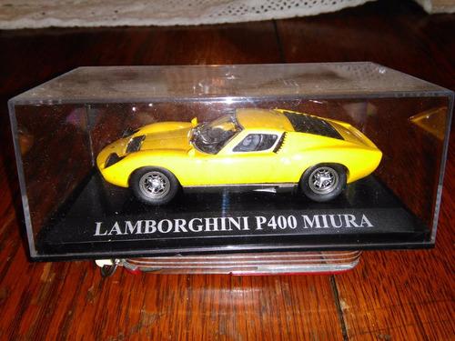 lamborghini p-400   miura 1/43 ixo/altaya scalemodelshobbies