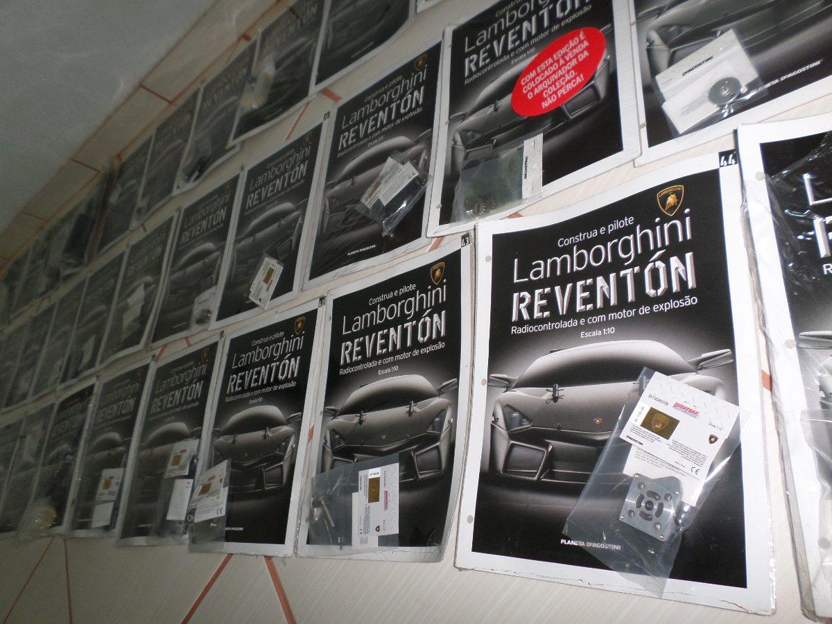 Lamborghini Reventon Deagostini Conjunto De Fasciculos R 899 00
