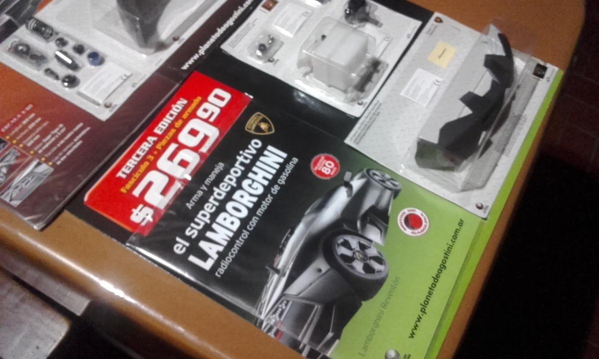 Lamborghini Reventon Esc 1 10 Fasciculos 1 2 3 5 Y Otros 325