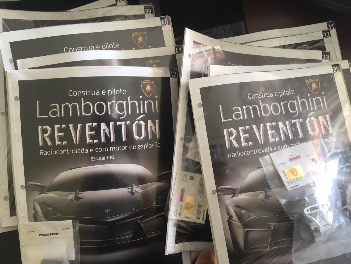 Lamborghini Reventon Escala 1 10 Fasciculos Lacrados R 45 00