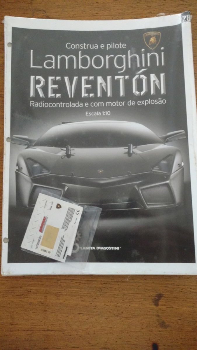 Lamborghini Reventon Fasciculo 1 Ao 28 R 490 00 Em Mercado Livre