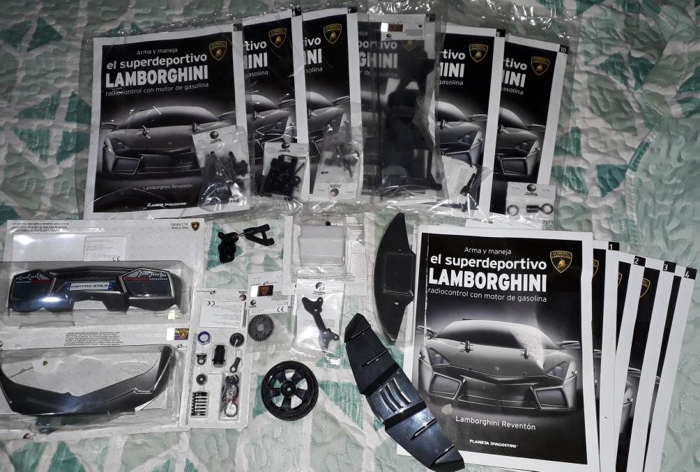 Lamborghini Reventon Fasciculos 1 Al 10 Completo Al Dia 2 000
