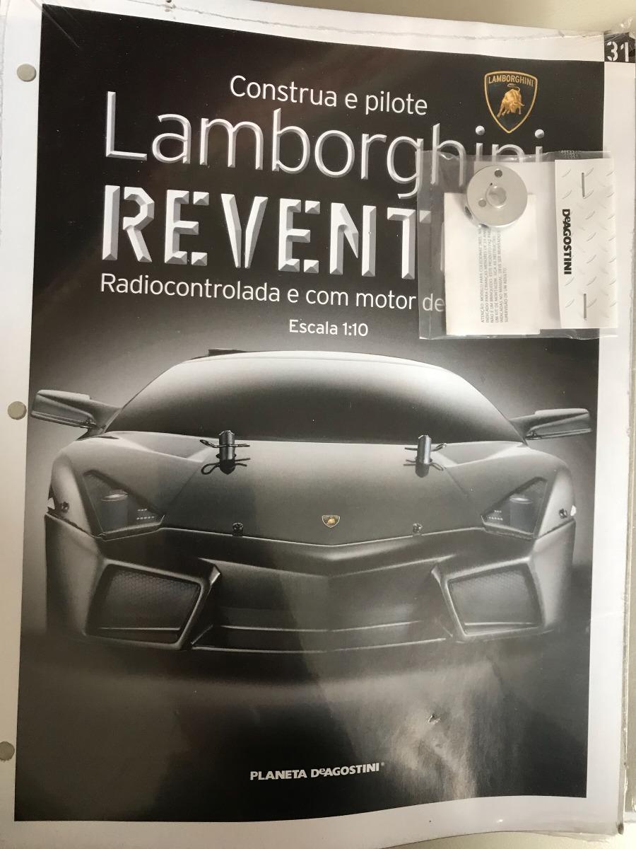 Lamborghini Reventon Planeta Deagostini Fasciculos Lacrados R 58