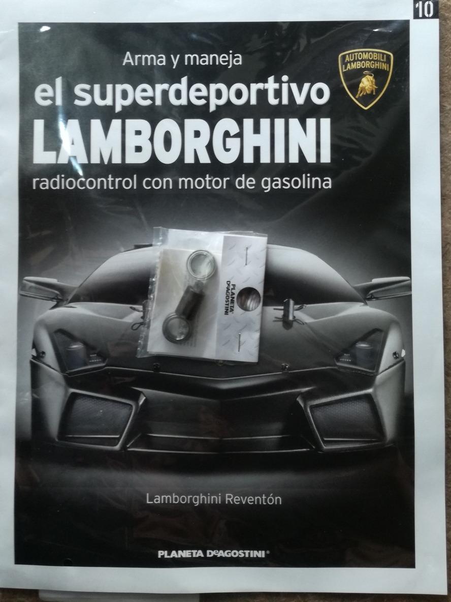 Lamborghini Reventon Planeta Fasciculo 10 Sin Abrir 420 00 En