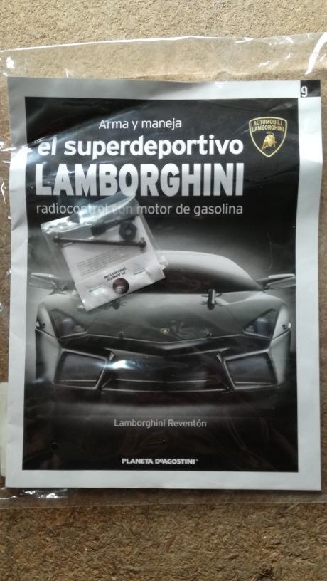 Lamborghini Reventon Planeta Fasciculo 9 Sin Abrir 420 00 En