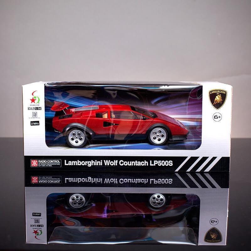 Lamborghini Wolf Countach Lp500s Control Remoto Escala 1 14
