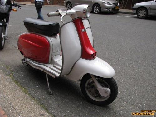 lambretta inocenti 1963 126 cc - 250 cc