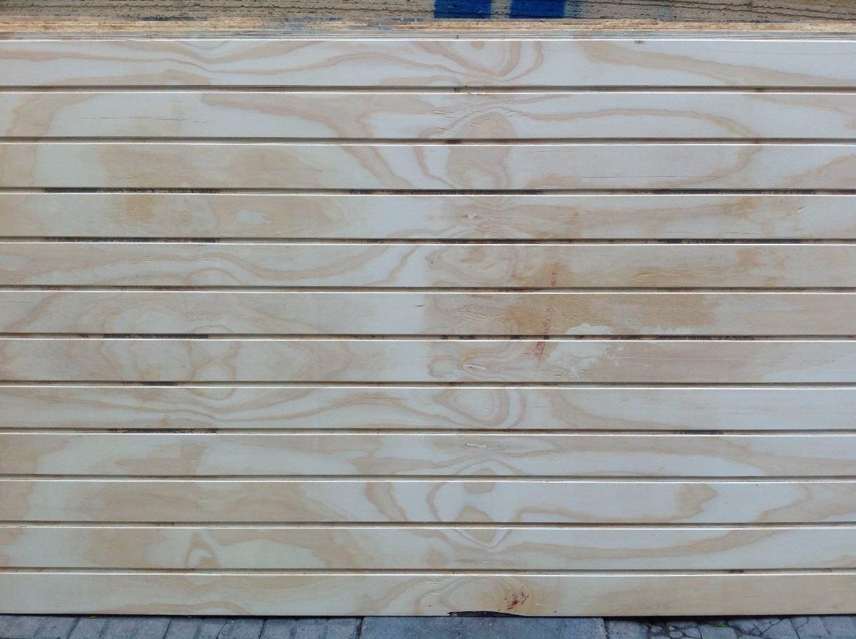 Lambriz de madera en placas 1 22 x 2 44 en - Placa de madera ...