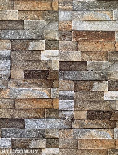 lambriz /revestimiento en pvc piedra laja 4m x 0.25m 1m2 8mm