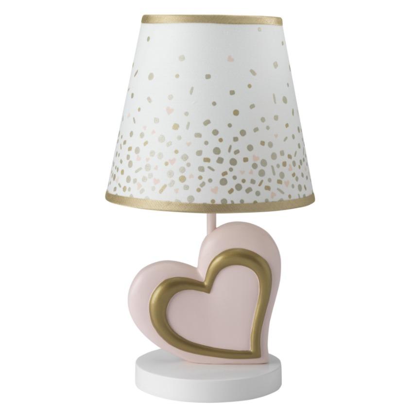 Lambs & Ivy Confetti Heart Lamp Lampara Cuarto Bebe Niña - $ 299.000 ...