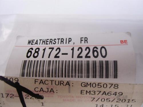 lamevidrio interno delantero izqrdo corolla 2009 6817212260
