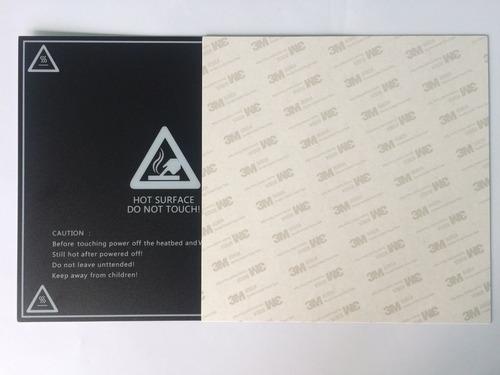 lamina 20x20 de adherencia mesa cama impresora 3d prusa