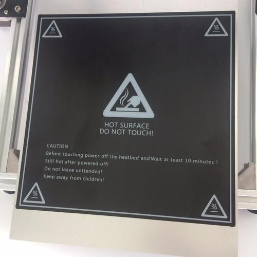 lamina 20x30 + adherencia! mesa cama impresora 3d prusa
