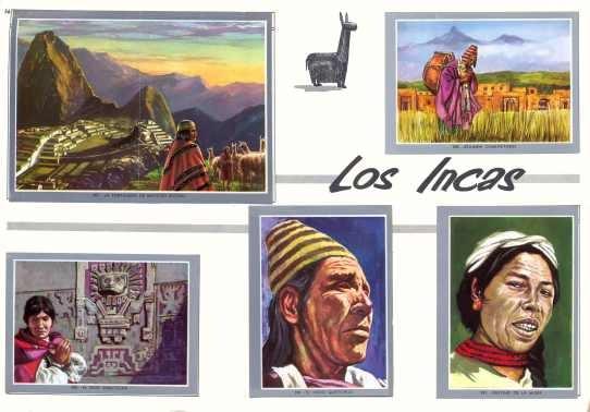 L 225 Mina 45 X 30 Cm Historia Antigua 56 Los Incas