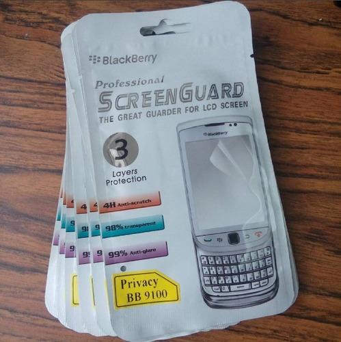lamina antiespia blackberry pearl 9100 9105 pearl 3g origina