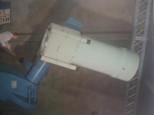 lámina antigua telescopio 40 inch. boller & chivens inc.