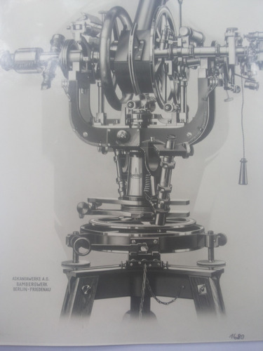 lamina antiguo aparato astronomico