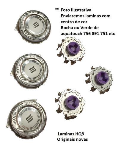 lamina aquatouch philips at891 810 811 756 751 kit hq8