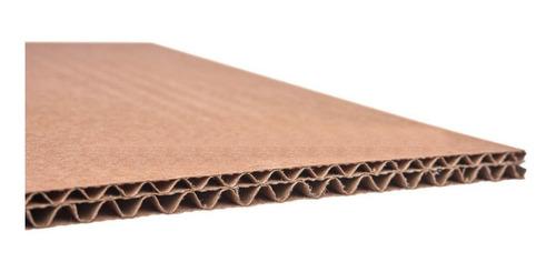 lamina de carton doble corrugado para empaque 120x108 cms