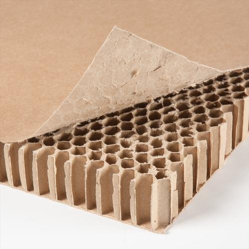 lamina de cartón panal honeycomb 115x90x1 (cm)
