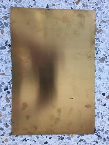 lámina de latón bronce 0,50 orfebreria