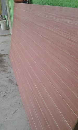 lamina de madera tipo machimbrado