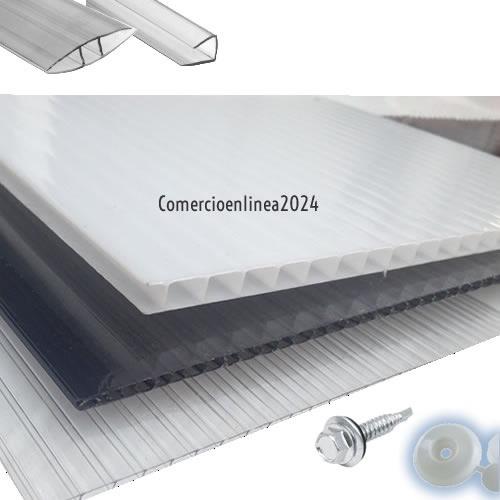 Lamina de policarbonato x medida accesorios blanco - Policarbonato blanco precio ...