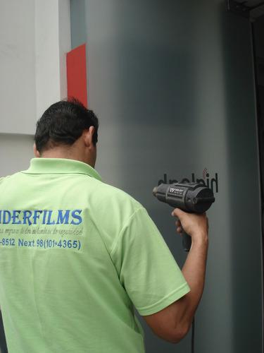 lamina de seguridad 4 micras para vidrios s/. 23.00 soles m2