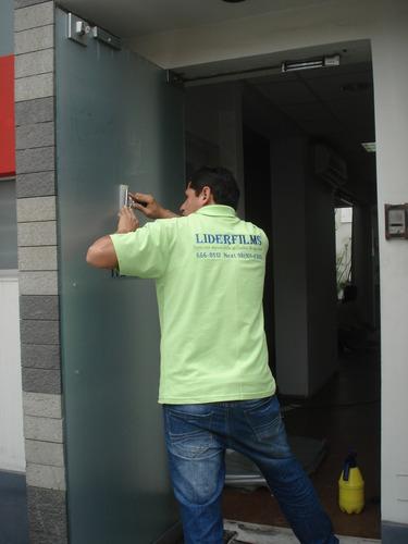 lamina de seguridad para vidrios - certificado indeci