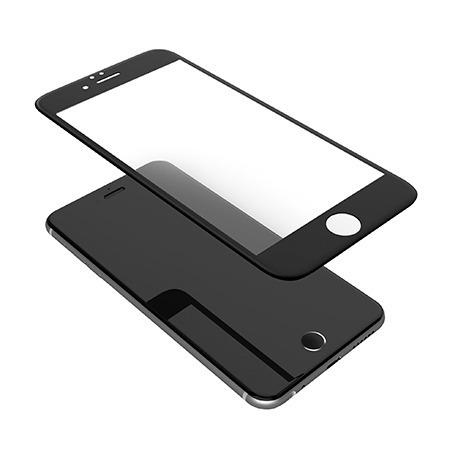 lamina de vidrio 3d para iphone 7 y 8 negra - phone store