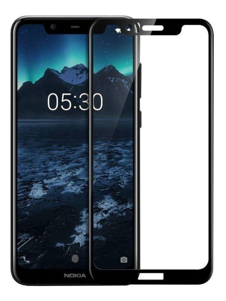 Pegamento 9D Completo Protector de Pantalla de Vidrio Templado Para Nokia 5.1