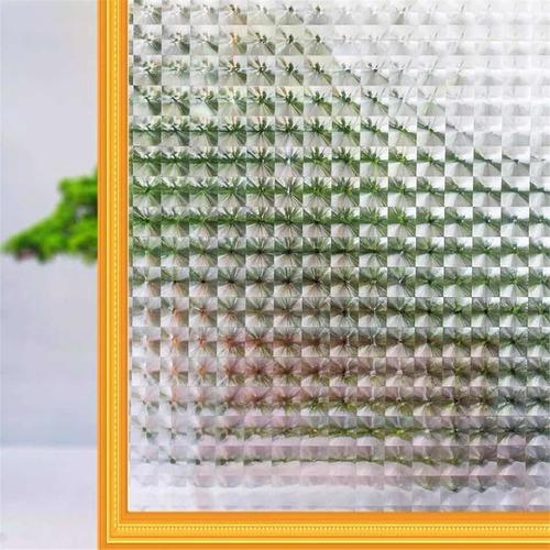 lamina de vinilo vitral 2 mts x 45 cm  electrostático,