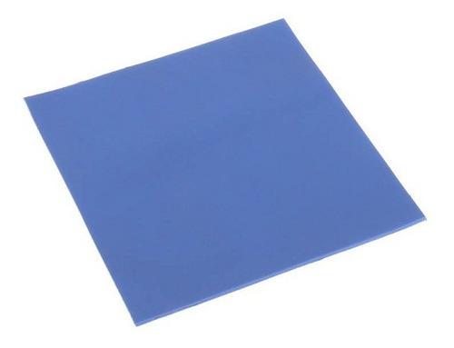 lámina disipadora termal azul (chicle) 100x100x2mm