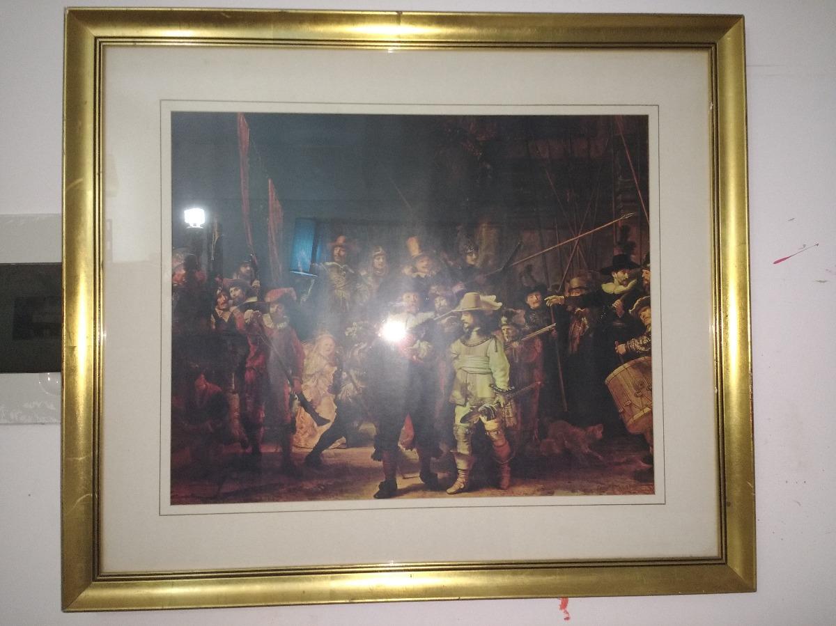 Lamina Enmarcada Antigua Con Paspartu - $ 821,10 en Mercado Libre