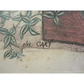 Lámina Enmarcada De Nel Cary