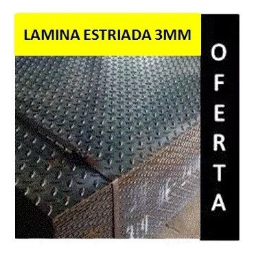 lamina estriada 3mm