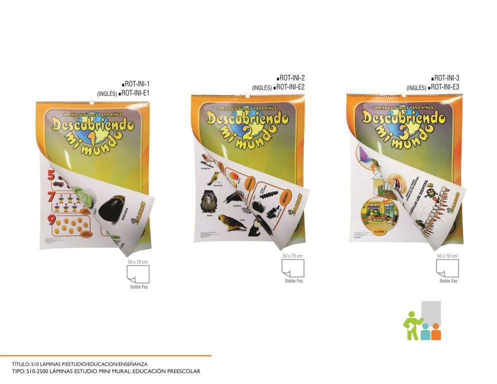 Lamina Estudio Escolar Mini Mural Bs 9 140 29 En Mercado Libre
