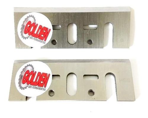 lamina faca plaina elétrica 82 x 29 x 3 mm (par)