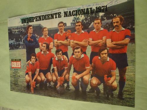 lamina independiente 1971 - di palma - cassius clay - goles