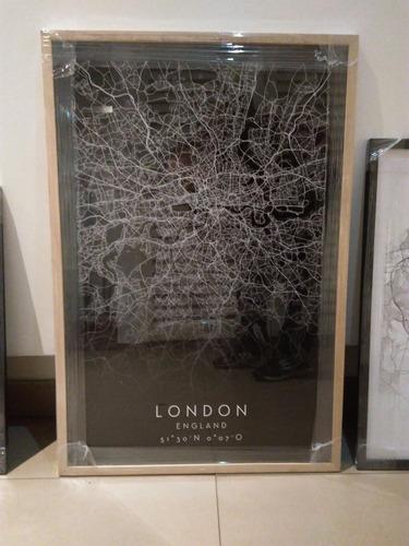 lámina mapa ciudad a elección 40 x 50 cm