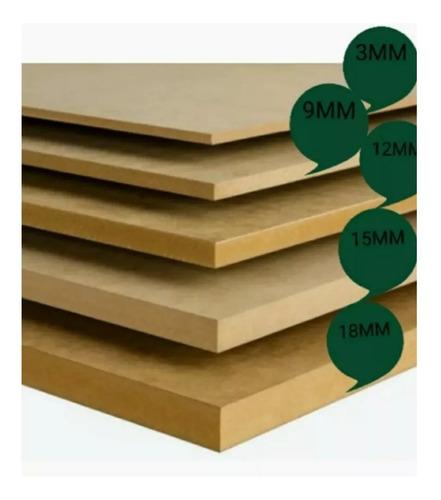 lamina mdf crudo 183x244 de 15mm somos tienda física