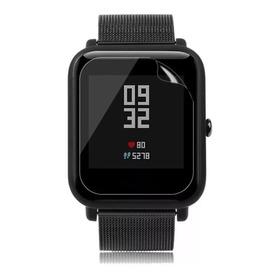 Lamina Mica Protector 3x1 Pantalla Reloj Xiaomi Amazfit Bip