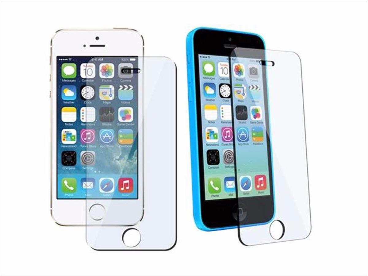 4eef0d64d7c Lamina Mica Vidrio Templado iPhone 4, 4s, 5, 5s, 5c 6, 7 - $ 2.990 ...