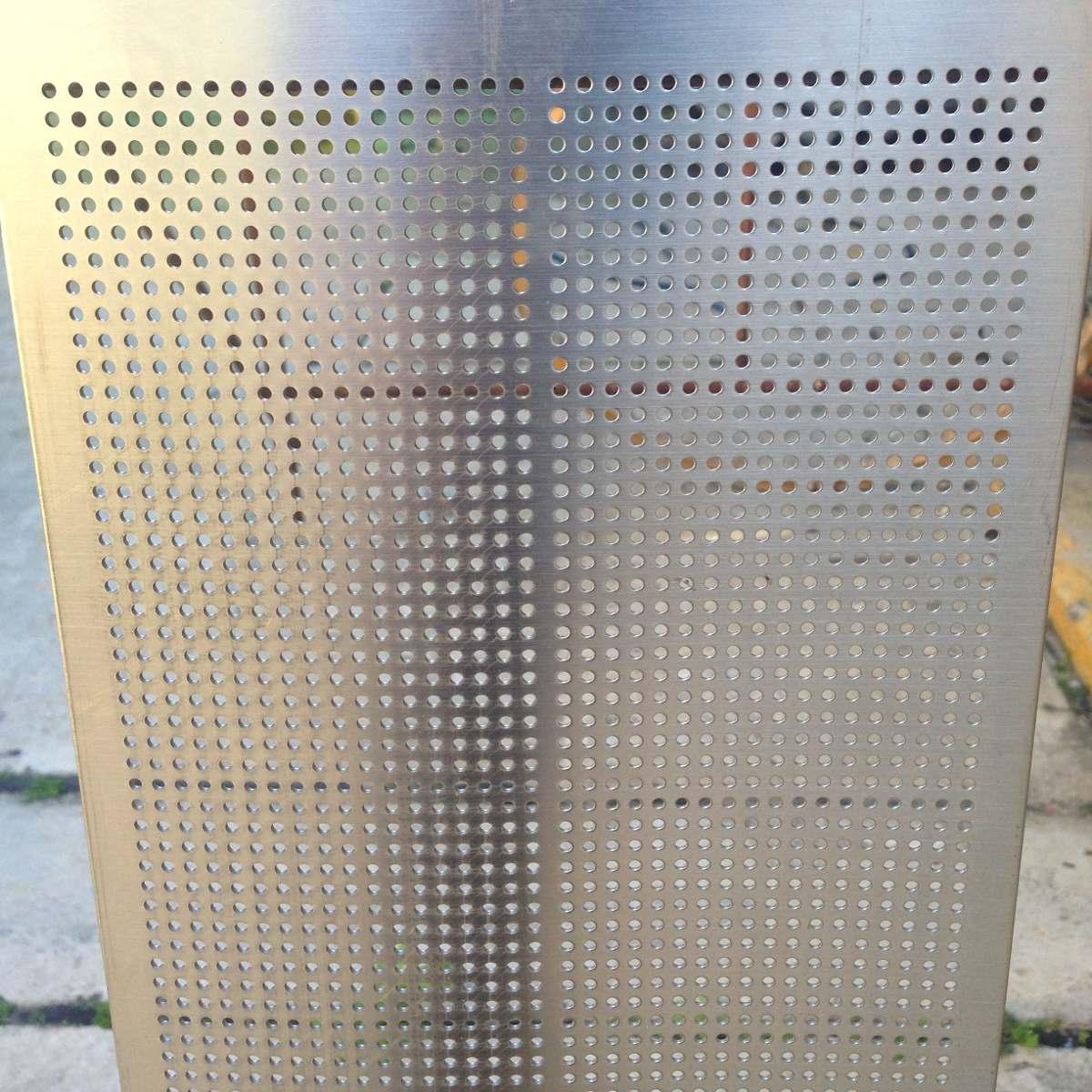 Lamina microperforada acero inoxidable circular 2 mm bs - Laminas de acero inoxidable ...
