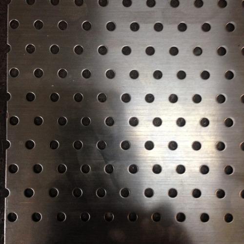 lamina microperforada acero inoxidable circular 5 mm