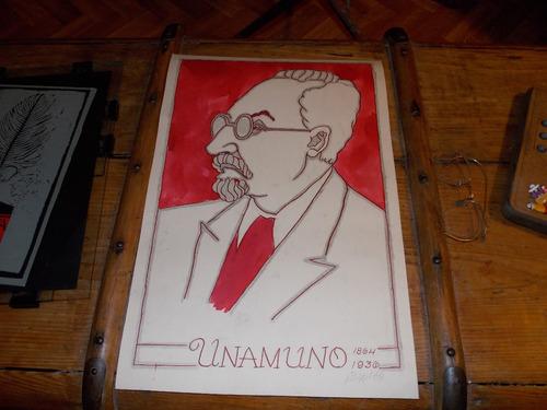 lamina original 4 blanquito caricaturista dec 60