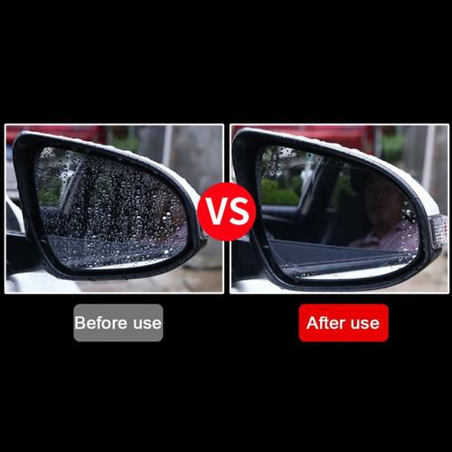lamina ovalada antiagua antiempañante espejo retrovisor auto